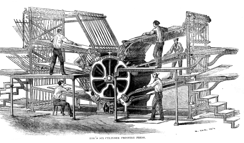 Hoes_six-cylinder_press