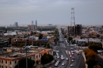 A view of Erbil from the top of the Citadel.
