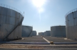 Storage tanks at the Erbil refinery.