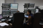 A control room in the Erbil refinery.