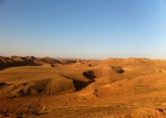 Countryside due east of Kirkuk.